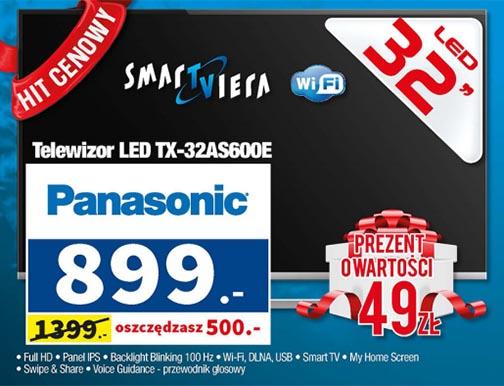 Telewizor PANASONIC TX-32AS600E (ponad 450zł TANIEJ) @ Partner AGD-RTV