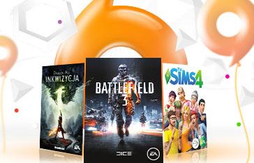 Nawet 95% TANIEJ (Battlefield 3 - 2,74zł, SimCity - 29,67 zł, Battlefield 4: Edycja Premium - 74,50 zł) @ Origin