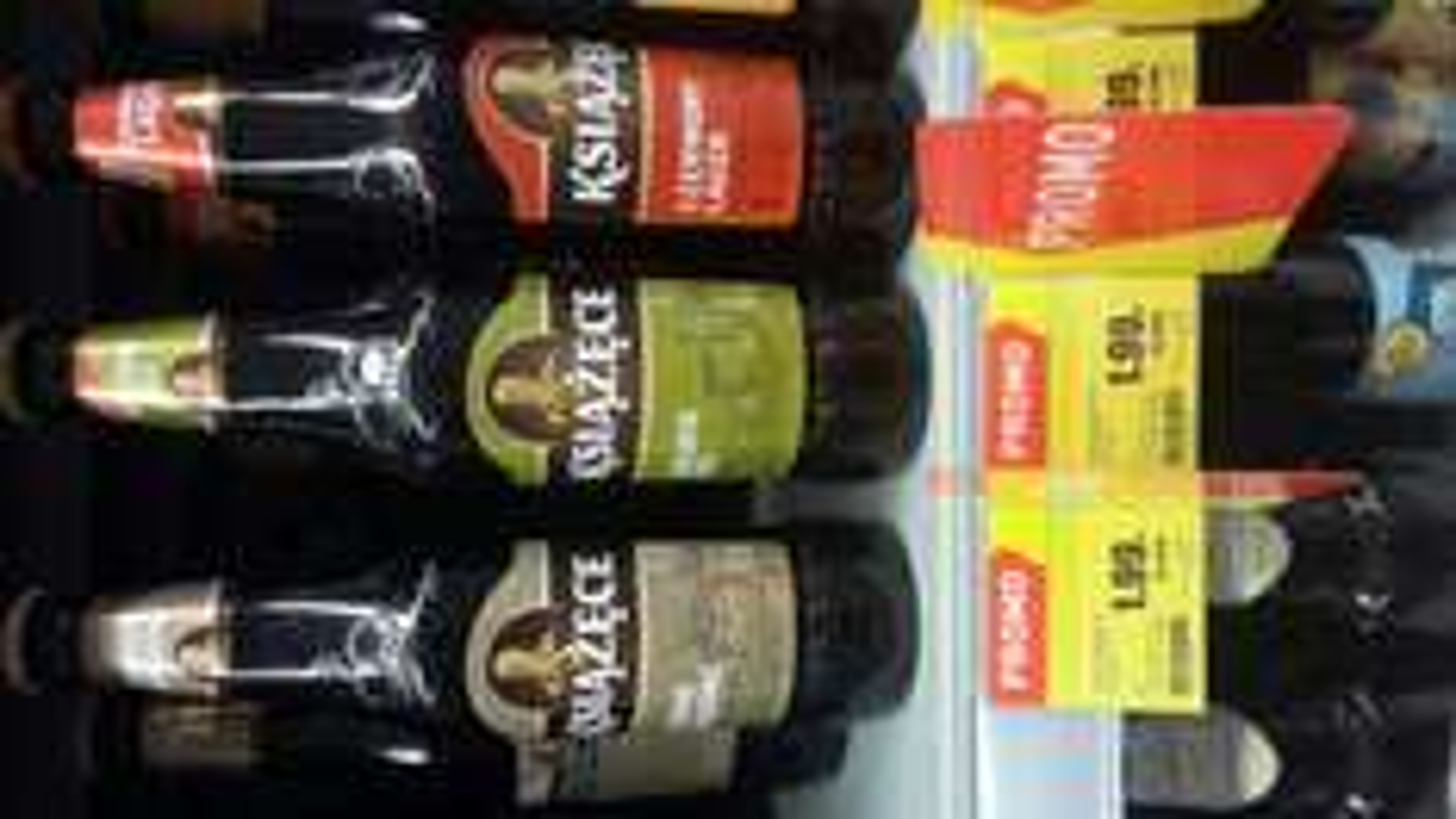 Piwo Książece Ciemne Łagodne, Golden Ale, Czerwony Lager 0.5L @Intermarche