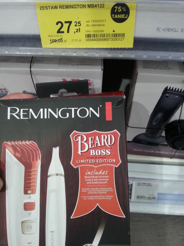 Remington BT4122 trymer do brody. Tesco.