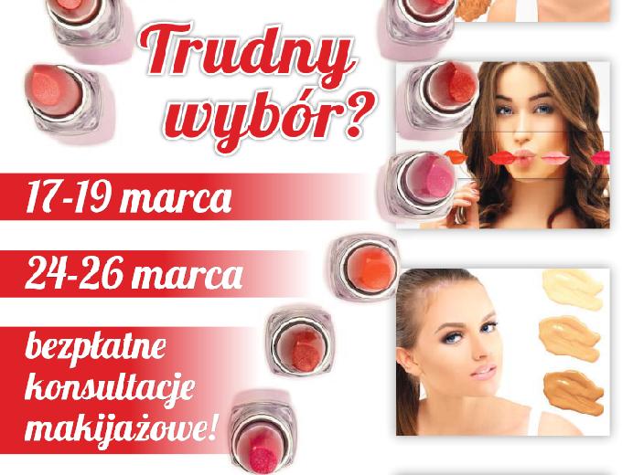 Bezpłatne konsultacje makijażowe @ Natura