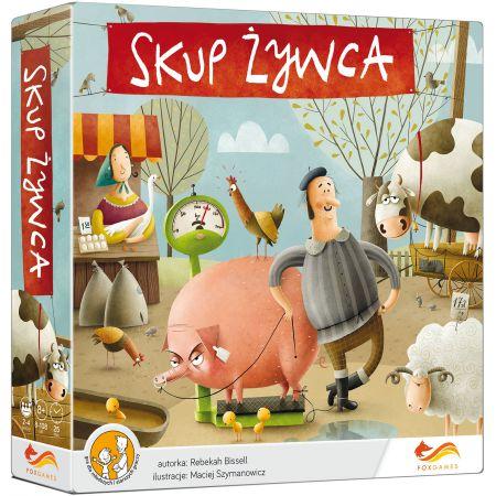 Skup Żywca - gra planszowa + darmowa Paczka w RUCHU @taniaksiazka.pl