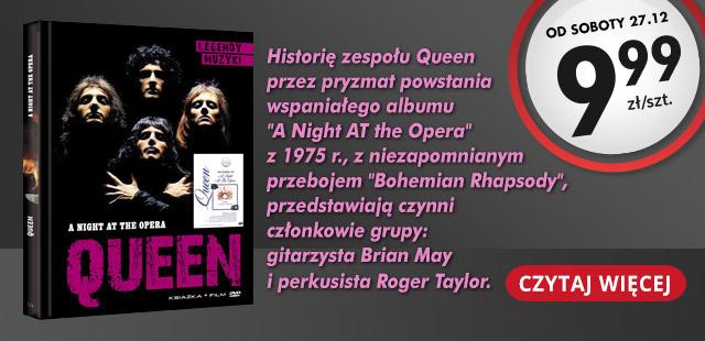 Koncerty z książką za 9,99zł (Led Zeppelin, U2, Bob Marley, The Rolling Stones, Queen i inni!) @ Biedronka