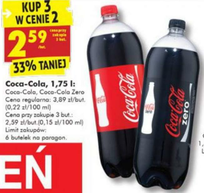 Coca-Cola 3x1.75l @Biedronka