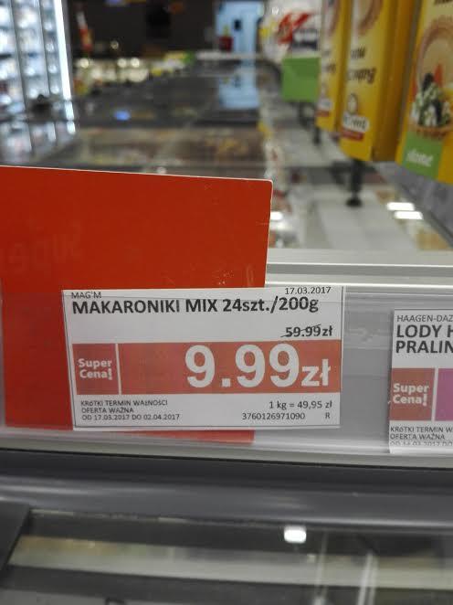 24 francuskie makaronki Mag'm za 9,99zł (zam lubiast 59,99zł) @ Piotr i Paweł (Poznań)