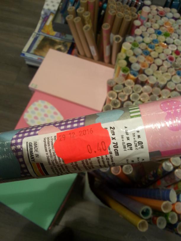 Kik papiery do pakowania prezentów