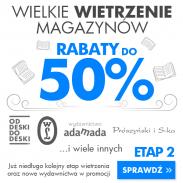 Wielkie wietrzenie magazynów do -50% w niePRZECZYTANE.PL