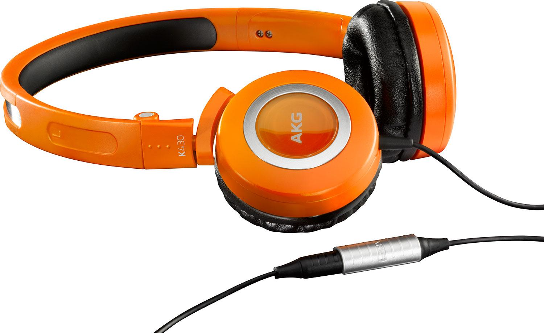 AKG K430 Orange za 99zł (TAŃSZE o 100zł) @ Komputronik