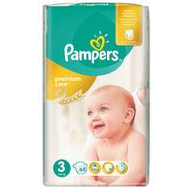 Pieluszki Pampers Premium Care za 39,99zł @ Intermarche