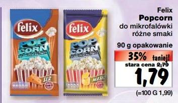 Popcorn Felix za 1,79 zł @ Kaufland