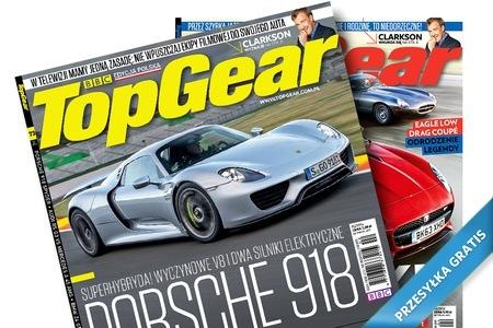 roczna prenumerata miesięcznika TOP GEAR za 59,90zł! @ Groupon