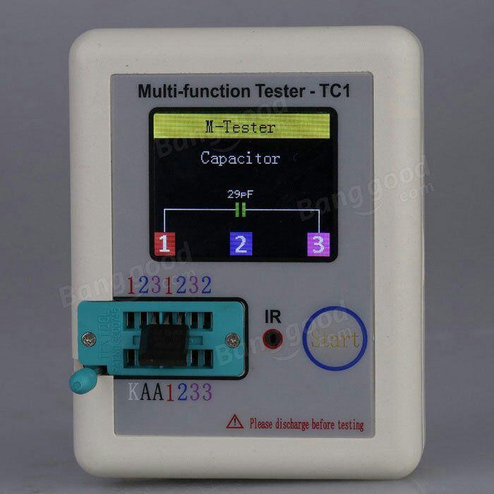 Tester diod, tranzystorów, rezystorów, IR, itp. 24$ zazwyczaj 32$