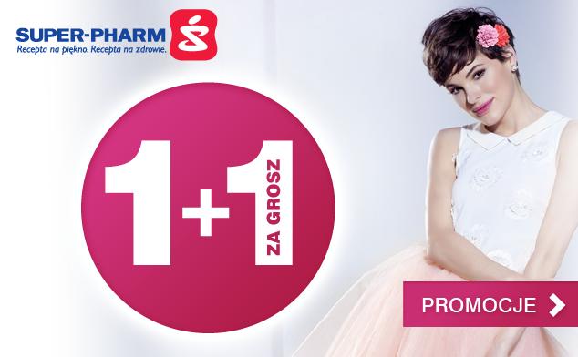Promocja na produkty do makijażu 1+1 za grosz @ Superpharm