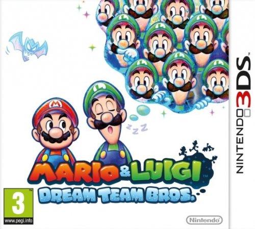 Mario and Luigi: Dream Team Bros. za 105zł! @ Amazon.co.uk