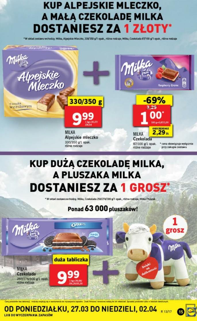 Promocje Milka @Lidl