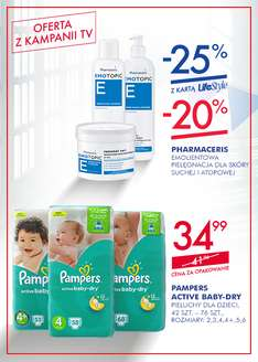 Superpharm - Pampers pieluchy rozmiary 2,3,4(+),5,6