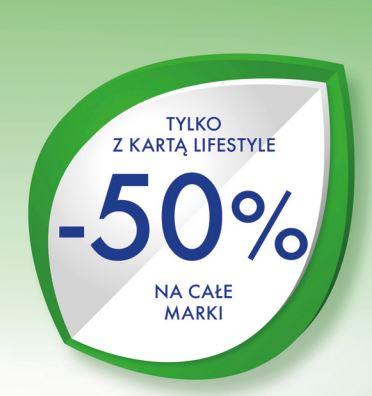 50% rabatu na wybrane marki (Colgate, Ziaja, Wilkinson, Durex i inne)+ drugie perfumy 50% taniej + 15zł na kolejne zakupy @ Super-Pharm