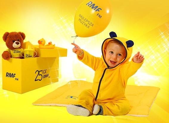 Prezent dla dziecka przy terminie porodu na 15 stycznia 2015 @ RMF FM
