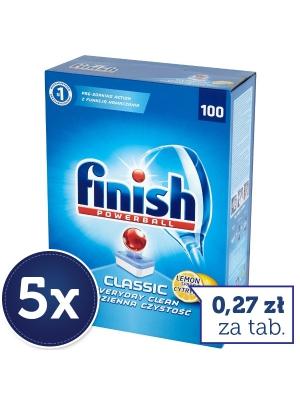 Tabletki finish 133zł za 5 opakowan po 100szt