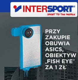 Obiektyw Fish Eye za 1zł przy zakupie butów Asics @ Intersport
