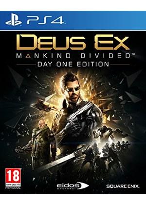 Deus Ex: Mankind Divided – Day One Edition na XONE i PS4 za ok. 50 złotych z wysyłką do Polski