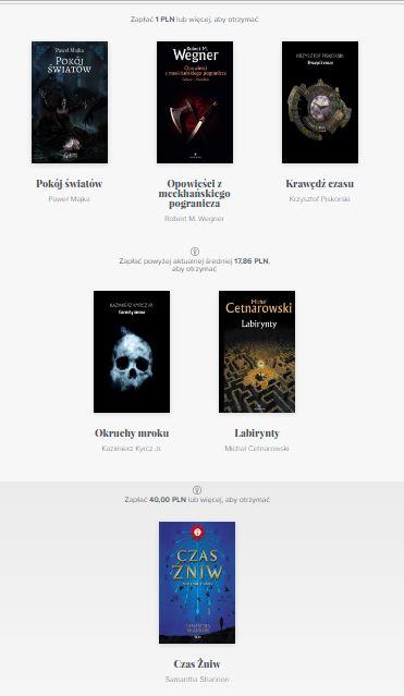 Nowy Bookrage - książki gości Pyrkonu 2017 (Majka, Piskorski, Wegner i inni)