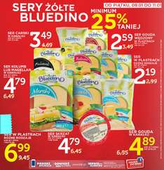 minimum 25% rabatu na sery żółte Bluedino @ Lidl