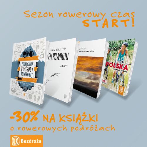 -30% na książki o rowerowych podróżach @ Bezdroża
