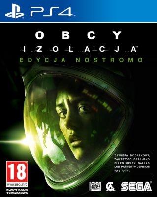 Obcy Izolacja PL Edycja Nostromo (PS4/XONE) za 139,99zł @ konsoleigry.pl