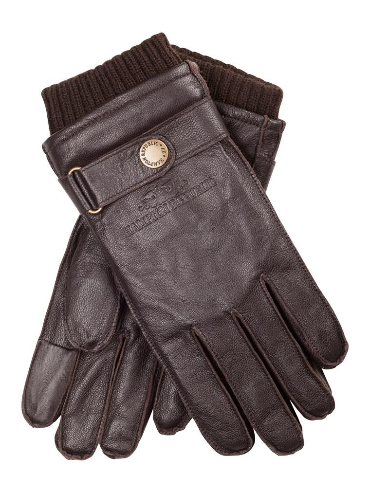 Skórzane rękawiczki z możliwością obsługi telefonu za 45zł (-70%) @ KappAhl