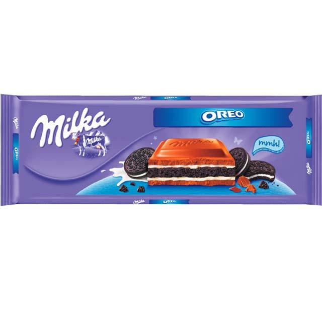 Czekolada Milka 250-300g, różne smaki.
