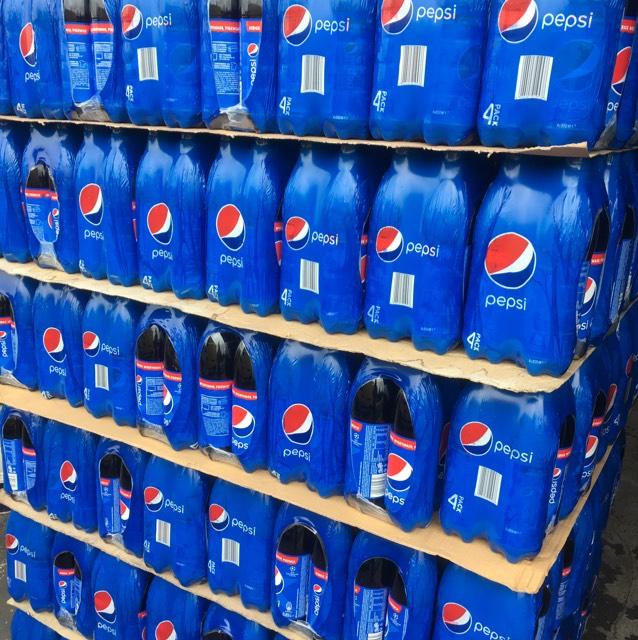 Pepsi / Pepsi Max 4x 0,85L / 1,37zł butelka  @Biedronka