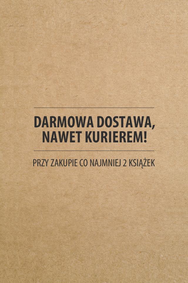 Darmowa dostawa przy zakupie 2 książek @ Znak