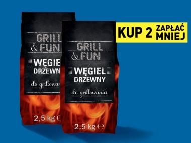 Węgiel drzewny  - 4,50 zł  LIDL  - Grill& Fun