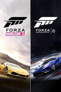 Zestaw Forza Motorsport 6 i Forza Horizon 2 taniej z Xbox Live Gold