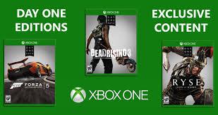 Gry na Xbox One - Dead Rising 3, Forza 5 GOTY, Ryse Legendary za 99zł oraz Sunset Overdrive i Halo MasterChief Collection za 139zł@Sferis