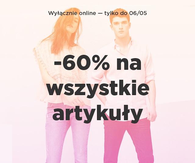 -60% na wszystko w MANGOOUTLET.COM