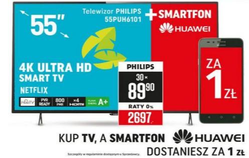 Kup telewizor 49' lub większy i odbierz Huawei Y3II lub P8 Lite za złotówkę!!! @ Neonet