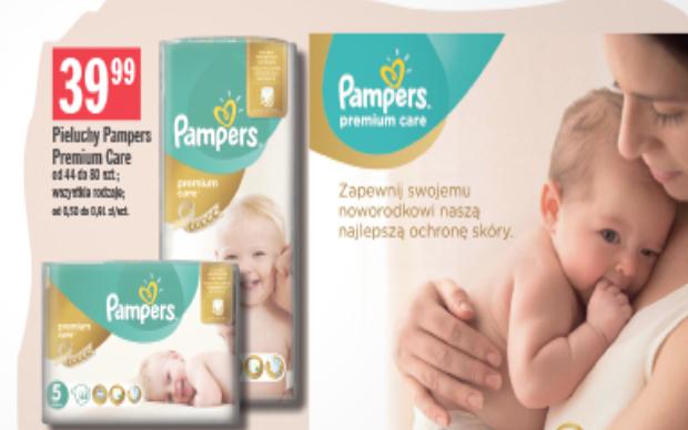 Pieluszki Pampers Premium Care za 39,99zł @ Stokrotka