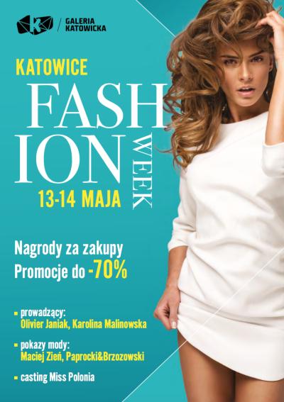 [13-14 maja] Fashion Week - rabaty na zakupy i inne atrakcje @ Galeria Katowicka