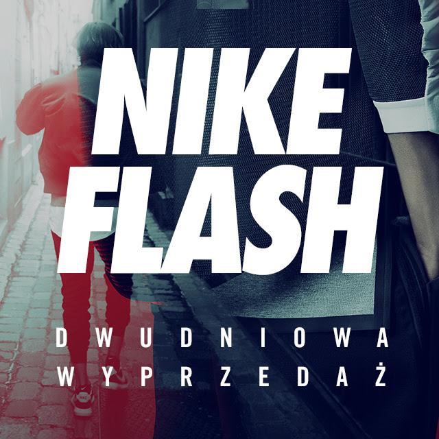 Nike Flash Sale 48h (np. Nike Roshe One za 175zł + darmowa dostawa)