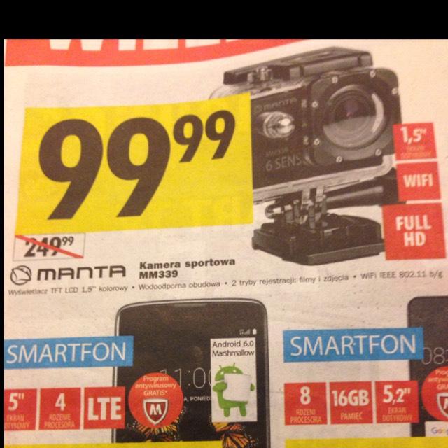 Kamera sportowa manta MM339