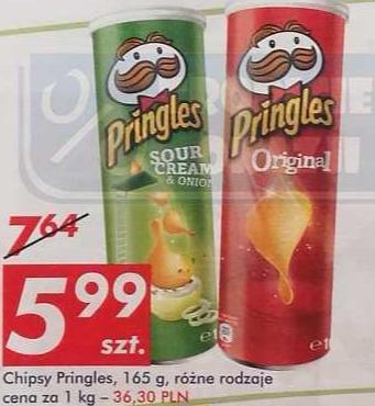 Pringles 165g różne rodzaje @ Auchan od 12 Maja