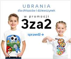 Ubrania dla dzieci: 3 w cenie 2 @ Empik