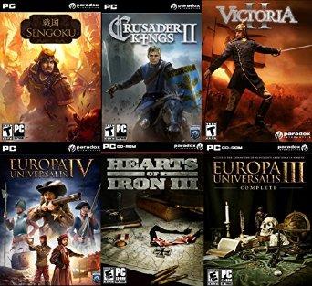 6 strategicznych gier Paradoxu na PC (Europa Universalis i inne) za 45zł! @ Amazon.com