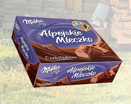 Milka Alpejskie Mleczko PIOTR i PAWEŁ 5,99zł zamiast 12,99