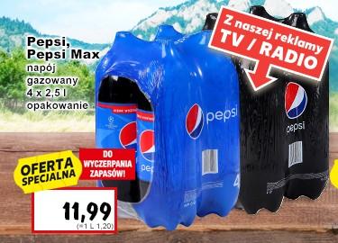 4x2,5l Pepsi, Pepsi Max Kaufland