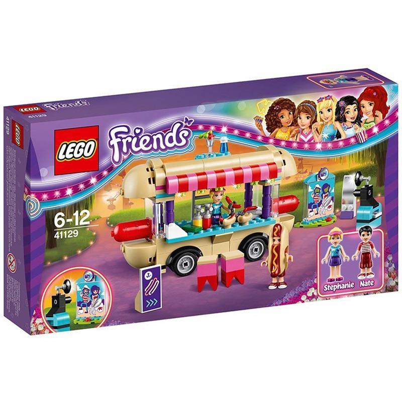 Lego 41129 Friends Park Rozrywki Stanowisko z Hot Dogami i inne @Tesco
