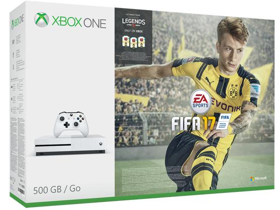 Xbox One S 500GB + Fifa 17 + Gears Of War 4 + Halo Wars 2 + Xbox Live 3 miesiące za ~1080zł z wysyłką @ ShopTo