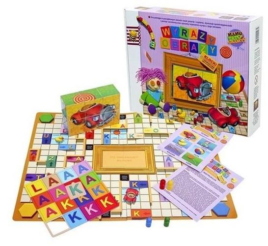 Gra dla dzieci Wyrazy-Obrazy za 13,88zł (-64%) + dostawa gratis @ Ravelo